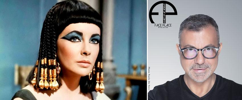 Make up dell\u0027antico Egitto