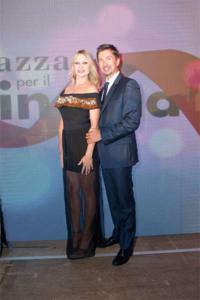 Anna Falchi e Riccardo Signoretti
