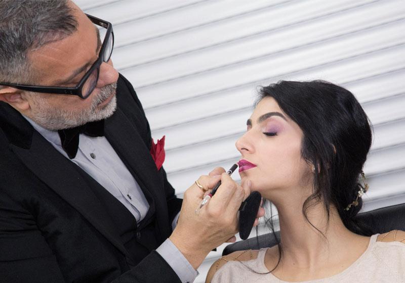 Il trucco sposa labbra