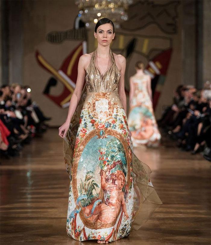 Sfilata Alta Moda Roma 2018