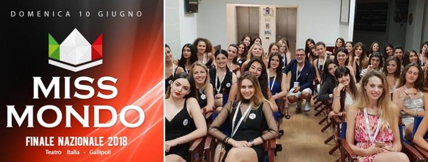 Miss Mondo Italia: la finale il 10 giugno