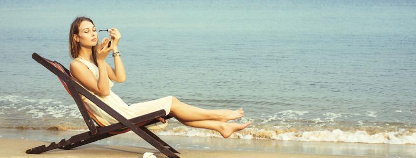 Il make up estivo glamour per le vostre vacanze al mare