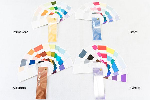 Tabella colori delle stagioni