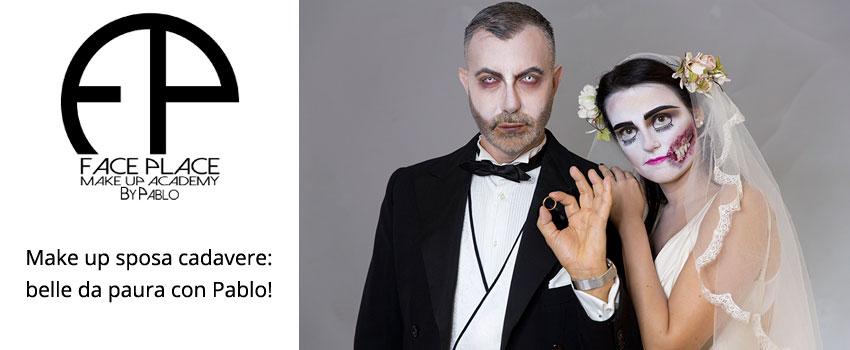 Make up sposa cadavere: belle da paura con Pablo!   Make Up