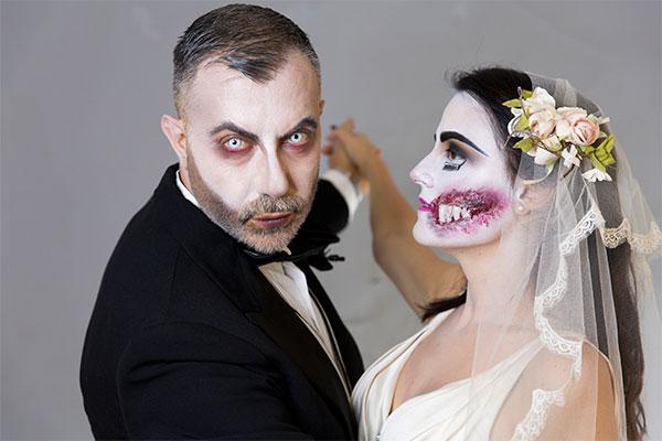 Sposa Cadavere per Halloween