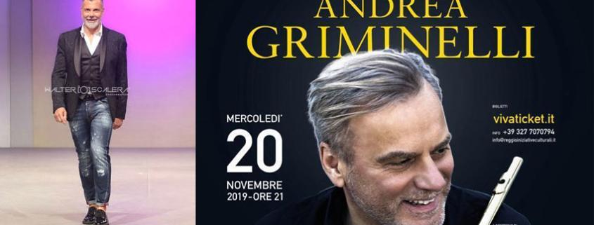 Andrea Griminelli e il concerto evento per i suoi 60 anni