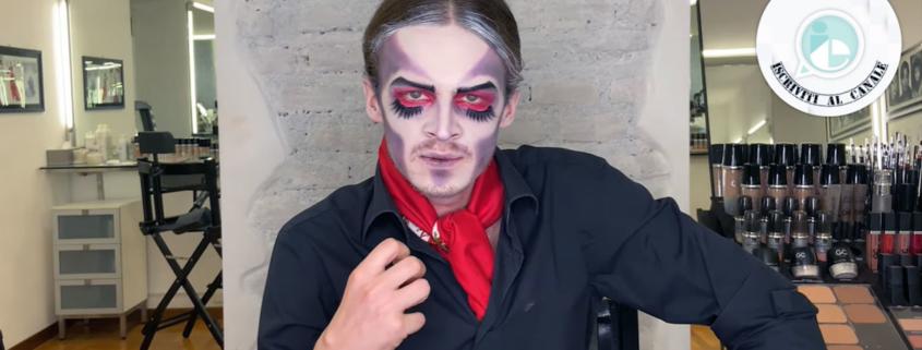 Trucco Halloween uomo: il vampiro